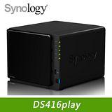 Synology 群暉 DS416Play 網路儲存伺服器