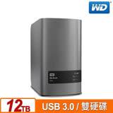 WD 威騰 My Book Duo 12TB(6TBx2) 3.5吋外接雙硬碟儲存