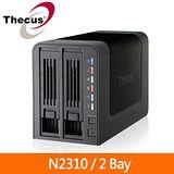 Thecus色卡司 N2310 2Bay網路儲存伺服器