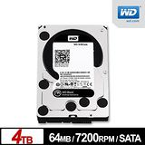WD 威騰 黑標 4TB 3.5吋 SATA硬碟 (WD4003FZEX)