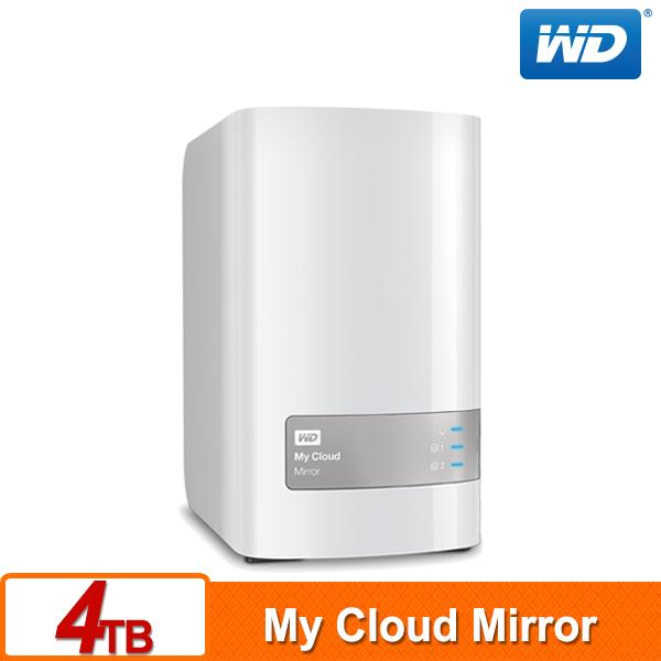WD 威騰 My Cloud Mirror (Gen2) 4TB (2TBx2) 雲端儲存系統