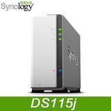 Synology 群暉 DS115J NAS 網路儲存伺服器