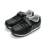 (中大童) ARRIBA 素面EVA慢跑鞋 黑 鞋全家福
