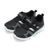 (中大童) ARRIBA 黏帶運動鞋 黑 鞋全家福