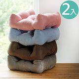 《Peachy life》加大版激厚高質感靠腰枕/腰枕/舒壓枕(4色可選)-2入組
