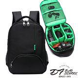 DF BAGSCHOOL - 單眼相機專業組專用1機2鏡後背包-共2色