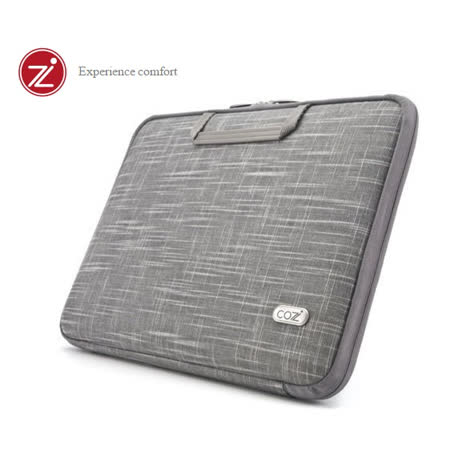 Cozistyle 13吋MacBook Air / MacBook Pro (Retina) 智能散熱防潑水手提硬殼電腦保護套 - 天然亞麻灰 -friDay購物 x GoHappy