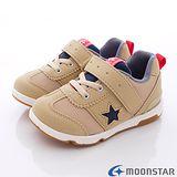 日本Carrot機能童鞋-美式創新運動款-NSC21568咖-(15cm-20cm)
