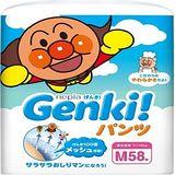 nepia 【買一送二】日本境內Genki!空氣感麵包超人 褲型M58片*3包
