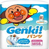 nepia 【送衛生紙】日本境內Genki!空氣感麵包超人 褲型M58片*3包