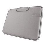 Cozistyle 13吋 Macbook Air /Macbook Pro(Retina) 智能散熱防潑水手提硬殼電腦保護套-帆布中庸灰