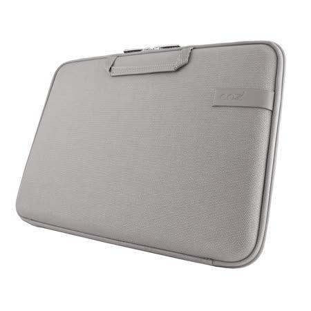 Cozistyle 13吋 Macbook Air /Macbook Pro(Retina) 智能散熱防潑水手提硬殼電腦保護套-帆布中庸灰 -friDay購物 x GoHappy