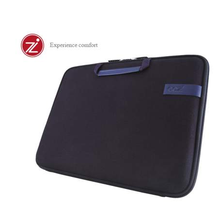 Cozistyle 13吋 Macbook Air /Macbook Pro(Retina) 智能散熱防潑水手提硬殼電腦保護套-帆布沉靜藍 -friDay購物 x GoHappy