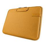 Cozistyle 13吋 Macbook Air /Macbook Pro(Retina) 智能散熱防潑水手提硬殼電腦保護套-帆布印加金