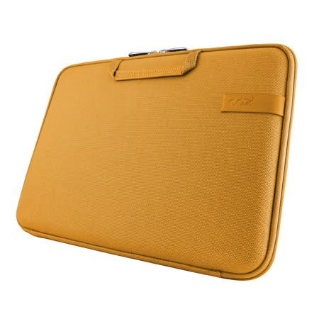 Cozistyle 13吋 Macbook Air /Macbook Pro(Retina) 智能散熱防潑水手提硬殼電腦保護套-帆布印加金 -friDay購物 x GoHappy