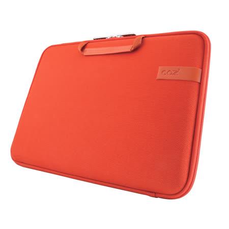 Cozistyle 13吋 Macbook Air /Macbook Pro(Retina) 智能散熱防潑水手提硬殼電腦保護套-帆布熔岩橘 -friDay購物 x GoHappy
