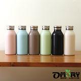 【OMORY】牛奶造型不鏽鋼保冷/保溫瓶350ml