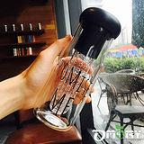 【OMORY】日韓PROMISE ME玻璃冷水瓶(附濾器)650ml-4入組