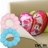 【Disney】米奇米妮愛心抱枕/午安枕+甜甜圈抱枕靠墊