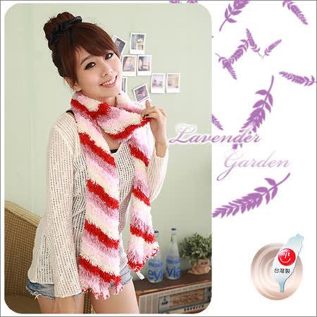 Lavender百變魔術圍巾-紅白四色混色 -friDay購物 x GoHappy