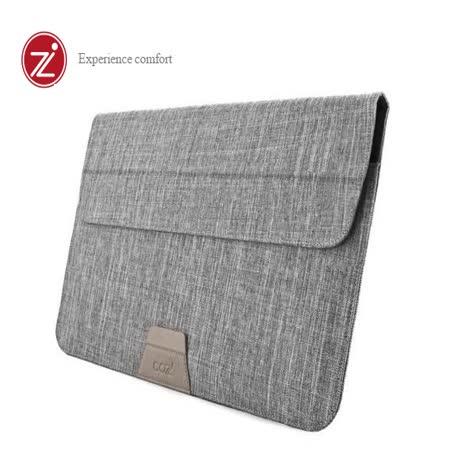 Cozistyle 13吋 Macbook Air/Pro(Retina) 防潑水可當立架 磁扣信封式筆電保護套-迷霧灰 -friDay購物 x GoHappy