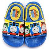 童鞋城堡-湯瑪士 小童 後帶拖鞋TH1523-藍