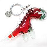 agnes b.恐龍造型鑰匙圈(紅/綠色)