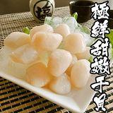 海鮮王 極鮮甜嫩干貝 *3包組 (約20-25顆/250g/包)