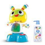 費雪牌 Fisher-Price 唱歌跳舞學習機器人小貝貝+雪芙蘭親貝比 嬰幼兒奶瓶清潔劑700ml