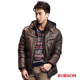 BOBSON 男款多口袋羽絨外套 (33035-76)