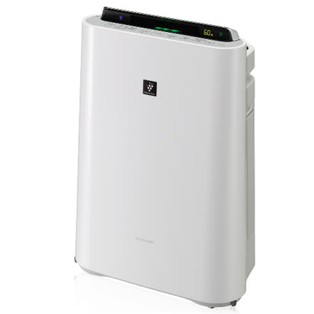 SHARP 夏普【KC-JD60T-W】空氣清淨機 (日本原裝進口) -friDay購物 x GoHappy
