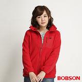 BOBSON 女款雙面刷毛搖粒布質外套(34114-13)