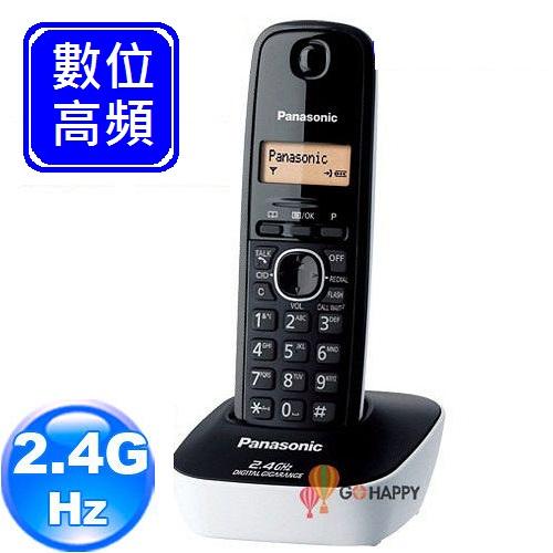 《Panasonic》 2.4GHz數位無線電話 KX-TG3411 (時尚白)