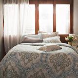 BBL華麗年代100%純棉雙人兩用被床組