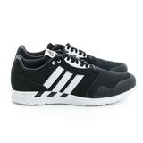 Adidas (男) 慢跑鞋 黑白 AQ6730