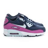 NIKE (大童) 經典復古鞋 深藍紫白 833340402
