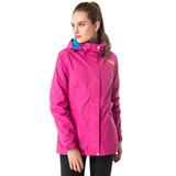 【hilltop山頂鳥】女款GoreTex單件式IA防水短大衣H22FS6粉