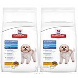 Hill's希爾思 熟齡犬 活力長壽配方 小顆粒 老犬飼料 2公斤 x 2包