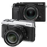FUJIFILM X-E2S+XF 18-55mm 單鏡組*(中文平輸)-送64GC10記憶卡+專用電池+單眼相機包+減壓背帶+專屬拭鏡筆+相機清潔組+高透光保護貼
