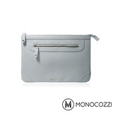 MONOCOZZI Posh Macbook Pro Retina 13吋皮革保護內袋 - 淡灰藍