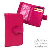 DF Flor Eden皮夾 - 在一起就好便利牛皮卡夾車票夾-共2色