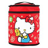 Hello Kitty+LINE 莎莉圓形保溫便當袋 0