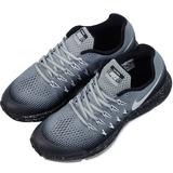 NIKE 女 ZM PEGASUS 33 SHIELD (GS) 慢跑鞋 灰859623001