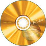 三菱 CD-R 52x 80min 地球金白金50片
