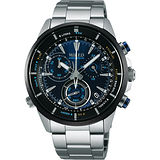 WIRED 日系獨立潮流計時腕錶-藍/42mm VK68-KB30D(AY8002X1)