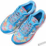 mizuno 女 WAVE RIDER 20 (W) (Fuji) 慢跑鞋 藍 -J1GD170802
