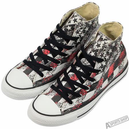 converse 女 Chuck Taylor All Star 高筒 帆布鞋 黑/紅 -148703C -friDay購物 x GoHappy