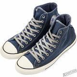 converse 男/女 Chuck Taylor All Star 高筒 帆布鞋 藍 -149466C