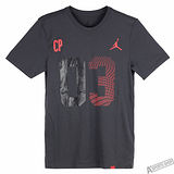 NIKE 男 AS CP3 ALL SIGNS TEE 短T 黑/紅 -801566021