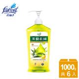 【茶樹莊園】茶樹超濃縮檸檬洗碗精-1000ml 箱購6入 JK2171YXFX6